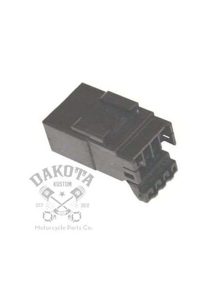 Conector 002 Hembra 4 cables Harley-Davidson 73104-96BK